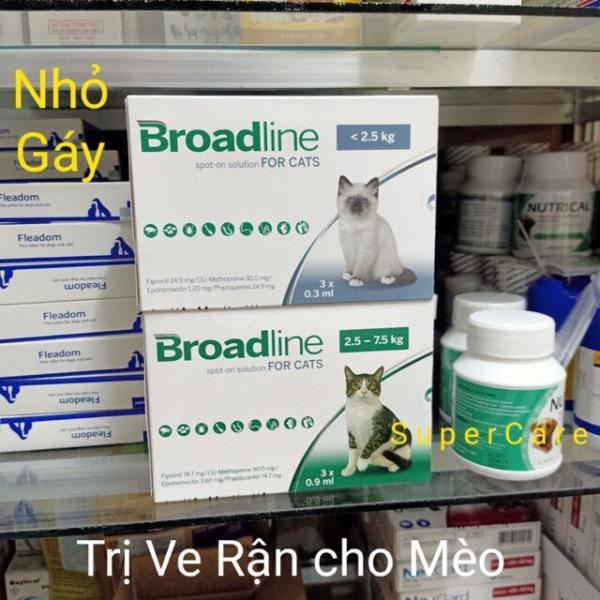 1 Tuýp Nhỏ Gáy Broadline Cho Mèo Dưới 2,5Kg