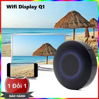 Thiết bị HDMI không dây Q1 Dongle hỗ trợ kết nối cổng AV - Wifi Display Dongle Q1 - HDMI Dongle Q1 hỗ trợ HDMI và AV trình chiếu từ Smartphone lên Tivi - HDMI không dây Q1 có hỗ trợ cổng AV thumbnail