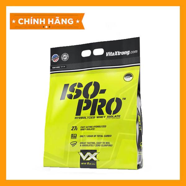 Sữa Dinh Dưỡng Tăng Cơ Siêu Tinh Khiết VITAXTRONG ISO PRO 8lbs (3.7 kg) Authentic