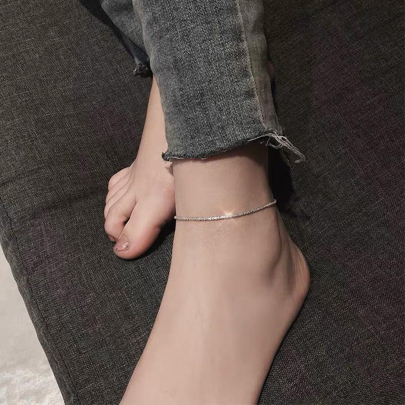 [HCM]Lắc chân trơn phong cách đơn giản dễ phối đồ thời trang