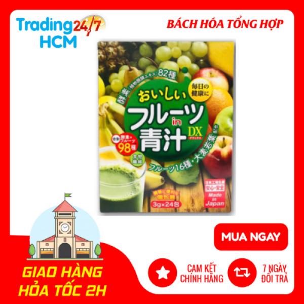 Bột rau xanh hương trái cây OISHI nhập khẩu nhật bản nhập khẩu