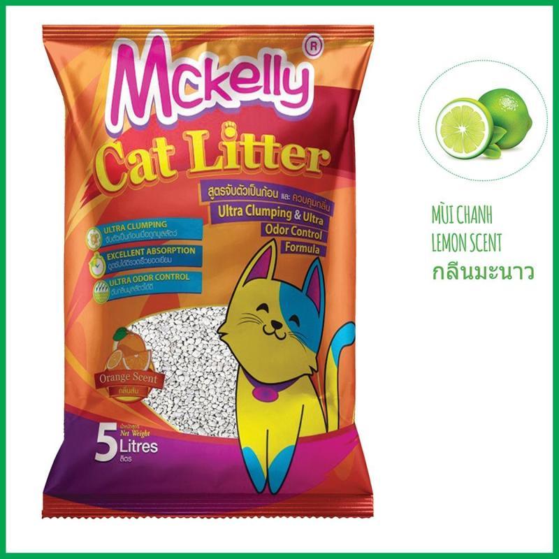 Cát vệ sinh cho mèo Genyo phân phối - McKelly 5L