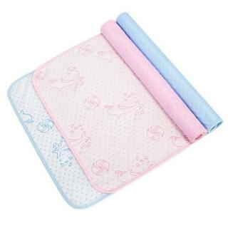Tấm lót chống thấm cho bé sơ sinh 4 lớp êm ái kích thước 50x70cm thumbnail