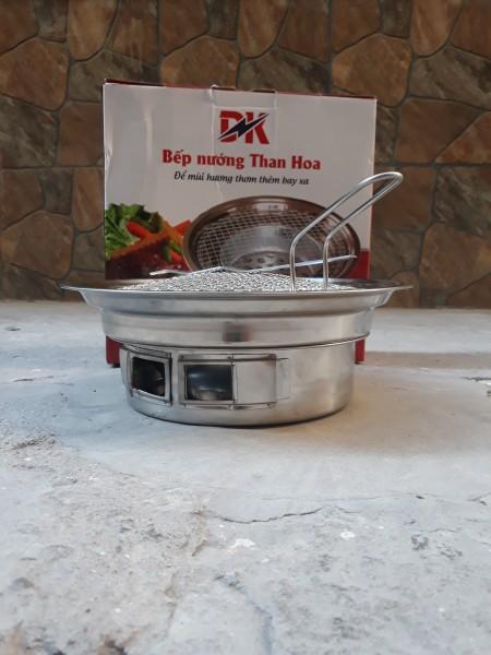 Bếp nướng than hoa đặt âm bàn cho quán nướng Rộng 34.5Cm