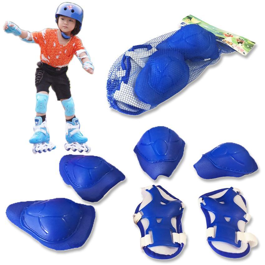 Giá bán Bộ Bảo Hộ Chân Tay Thể Thao Cho Bé - bộ bảo hộ chơi trượt patin