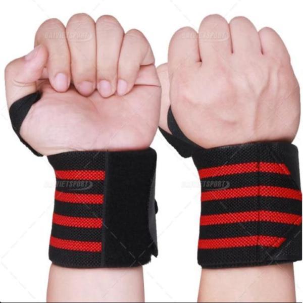Bảng giá Đai quấn bảo vệ cổ tay tập gym PJ (1 đôi)