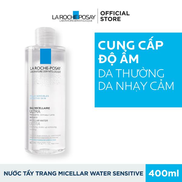 Nước làm sạch sâu và tẩy trang cho da nhạy cảm Micellar Water Ultra Sensitive Skin 400ML nhập khẩu