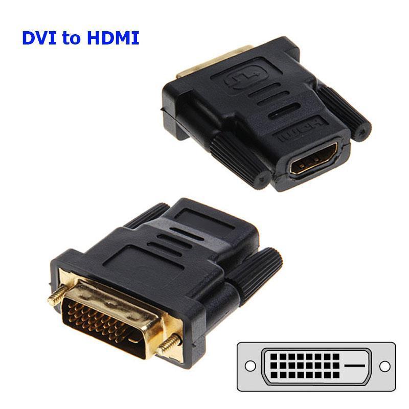 Giá Đầu Chuyển Tín Hiệu Từ DVI 24+1 Sang  HDMI
