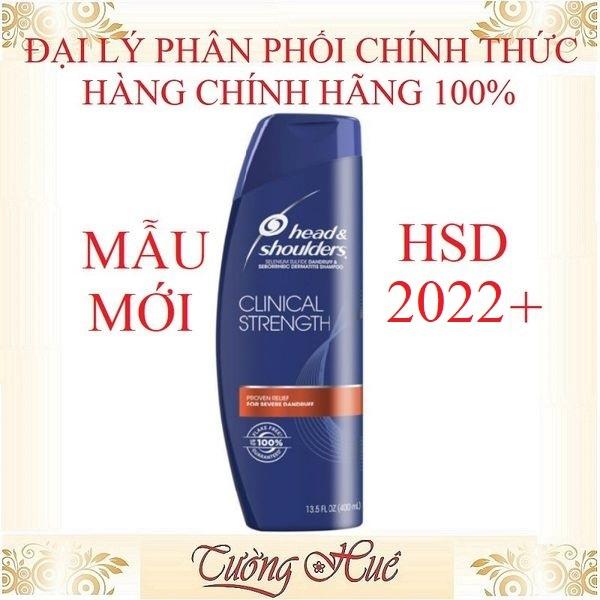 Dầu gội sạch gàu Head & Shoulders Mỹ Clinical Strength Shampoo - 400ml giá rẻ