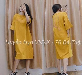 Đầm suông nữ Shynstores - váy suông chữ Ema form rộng vải cotton mềm mịn thoáng mát freeship thumbnail