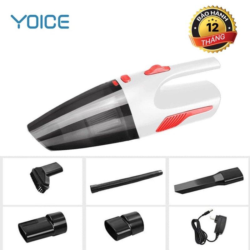 Máy hút bụi  không dây cầm tay ,đa năng,loại sạc pin cao cấp YOICE-Y-VCC1, công suất 120W (Có VIDEO) máy hút gia đình, máy hút bụi ô tô