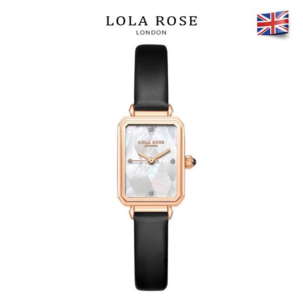 Đồng hồ nữ chính hãng đồng hồ Lolarose thiết kế mặt vuông 22x27mm làm vỏ ngọc trai cao cấp dây da bò Italy thấm hút tốt phù hợp cô nàng thanh lịch bảo hành 2 năm LR2182 đồng hồ nữ sang trọng bán chạy