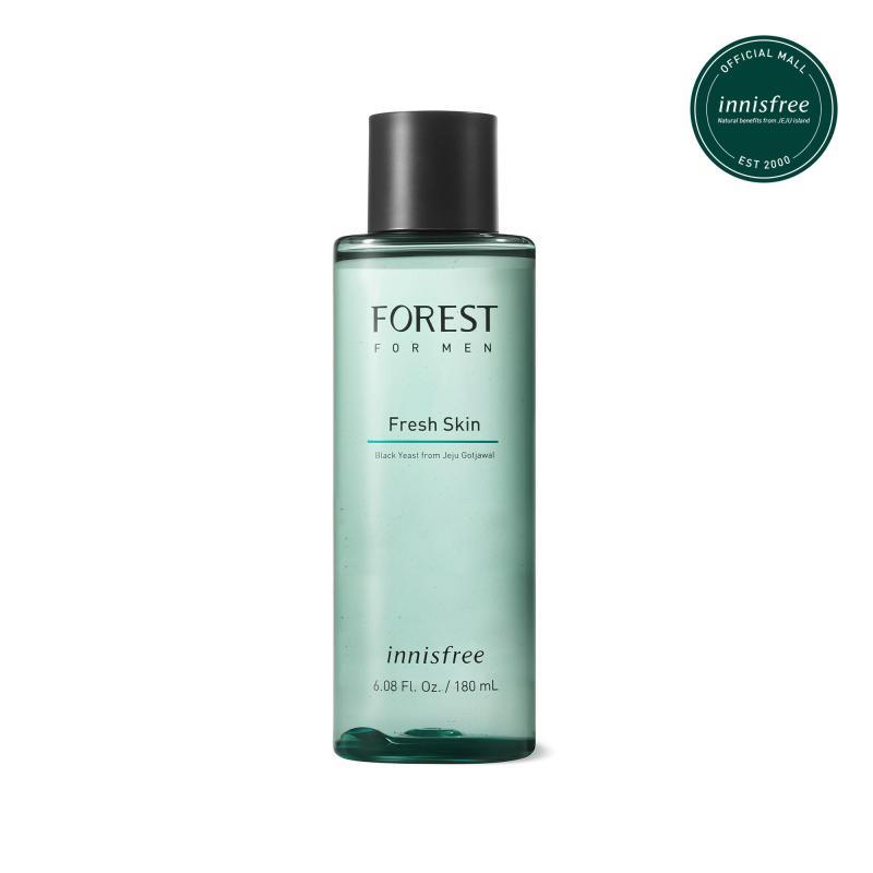 Nước cân bằng innisfree Forest for men Fresh Skin 180ml