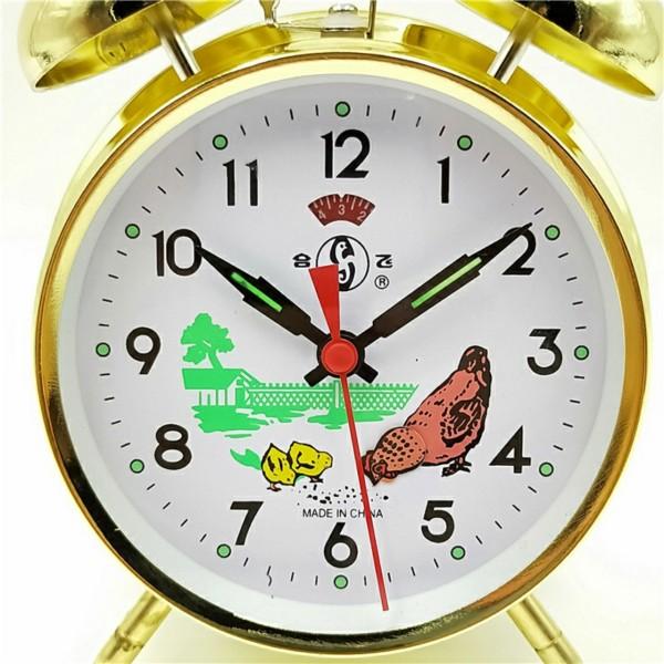 1 chiếc gà mái màu vàng /màu bạc báo thức Size nhỏ- cao:13cm bán chạy