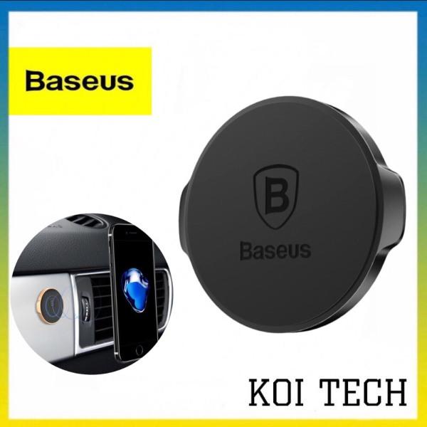 Bộ hít điện thoại từ tính đa năng trên oto và mặt phẳng Baseus Small Ears - giá đỡ điện thoại loại dán nam châm trên ô tô xe hơi siêu dính - KOI TECH