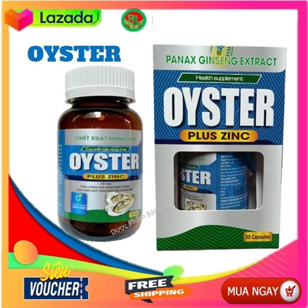 Hàu Biển Oyster Plus Zinc  Tăng Cường Sinh Lý Nam Giới, Mạnh Hơn, Bền Bỉ Hơn, Mang Lại Phong Độ  bản lĩnh đàn ông-Tuýp 10 viên