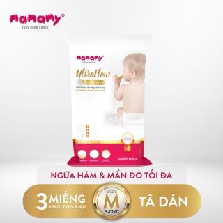 Combo 3 miếng tã dán Mamamy Ultraflow Size M thumbnail