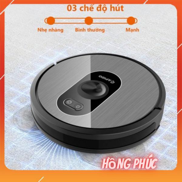 robot hút bụi và lau nhà điều khiển bằng tiếng Việt R6S Rapido
