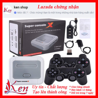 Máy chơi game playtayson có thể UP GAME, Máy chơi game x pro, Điện tử 4 nút, Máy chơi game fifa pes, Ps1, Ps2, Ps3, Ps4, NES thumbnail