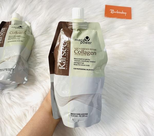 [Nhập khẩu][Sale] Dẩu ủ Tóc Karseell Maca Collagen 500ml ( có tem điện tử chống hàng giả )