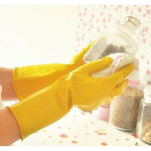 Găng tay rửa chén cao su tự nhiên Lock&Lock ETM803Y ETM804Y - Hàng chính hãng - JoyMall