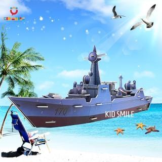(DÀI 53CM) Đồ Chơi Trẻ Em Ghép Mô Hình 3D Tàu Thủy ( Thuyền ) 40 Chi Tiết Bằng Giấy Ép Bọt Biển Phát Huy Khả Năng Tư Duy Và Rèn Luyện Tính Kiên Trì Cho Trẻ Từ 4 Tuổi Trở Lên thumbnail