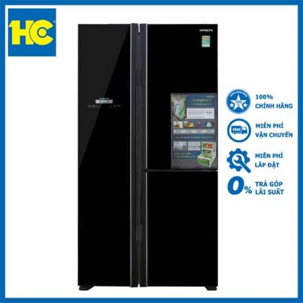 Tủ lạnh Hitachi R-FM800PGV2(GBK) - Miễn phí vận chuyển & lắp đặt - Bảo hành chính hãng