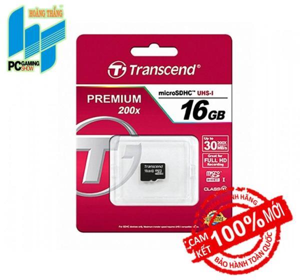Thẻ nhớ Micro SD Transcend 16GB (class 10)