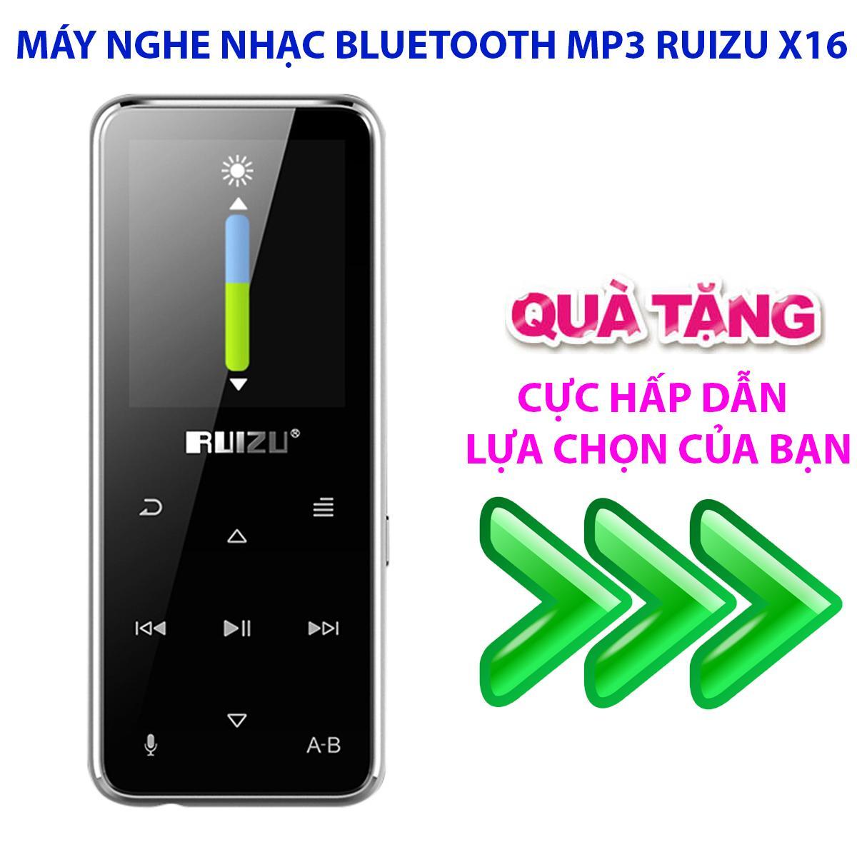 Máy Nghe Nhạc Kĩ Thuật Số Mp3 Bluetooth RUIZU X16 (8GB)