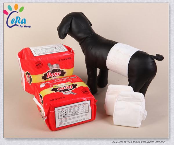 Tã Lót Bụng Chó Đực - Dono Size L (10 Tấm)