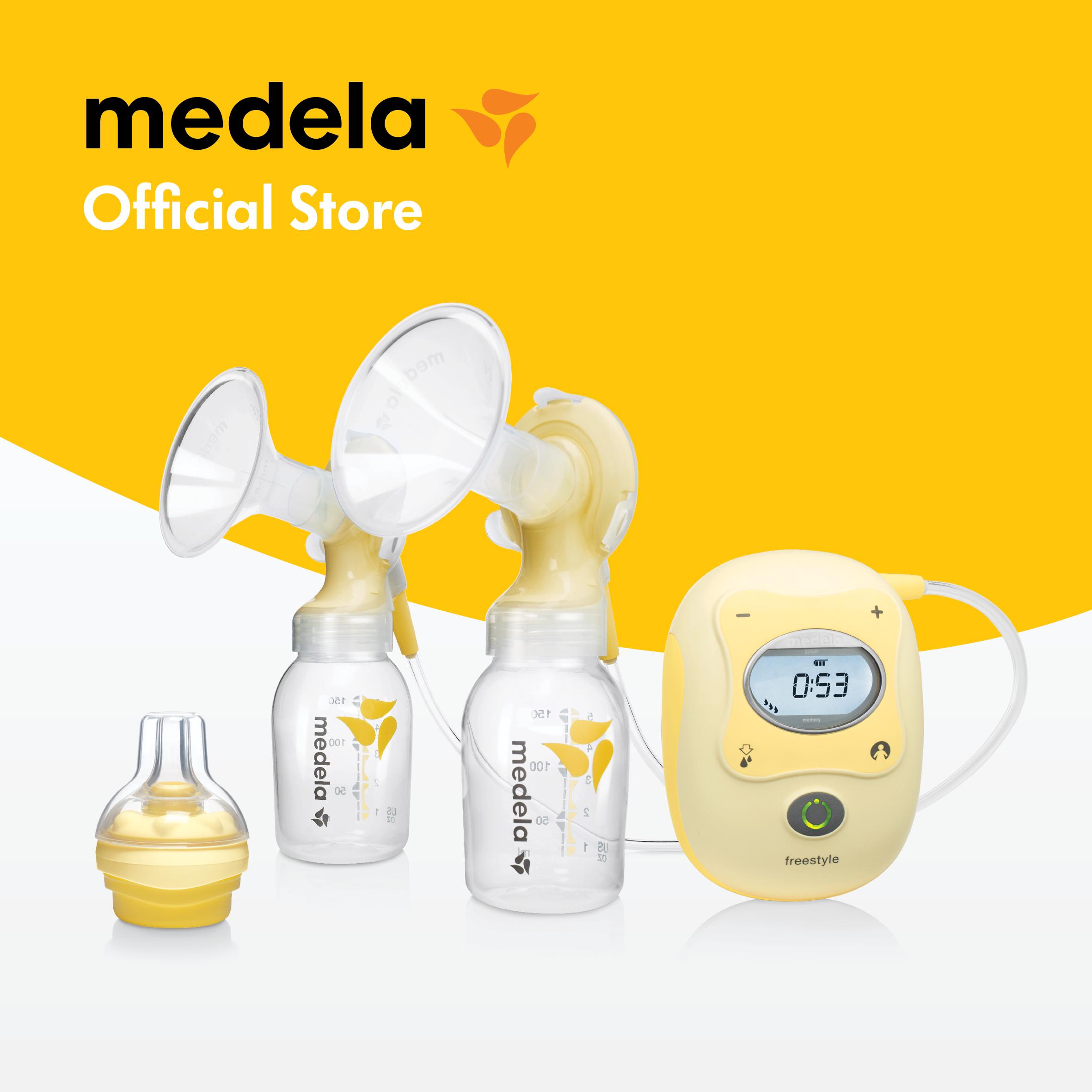 Máy hút sữa Medela Freestyle - Tặng 1 áo hút sữa rảnh tay DHL và 1 núm Calma - Hàng phân phối chính thức Medela Thụy Sĩ
