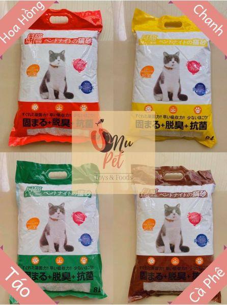 Cát vệ sinh Mèo Nhật Bản - Bao 8 Lít