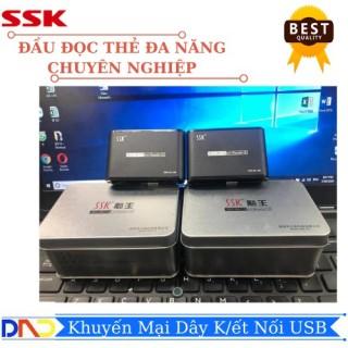Đầu đọc thẻ đa năng SSK (hộp sắt) SCRM - 0712 - chính hãng 100% cam kết sản phẩm đúng mô tả chất lượng đảm bảo thumbnail