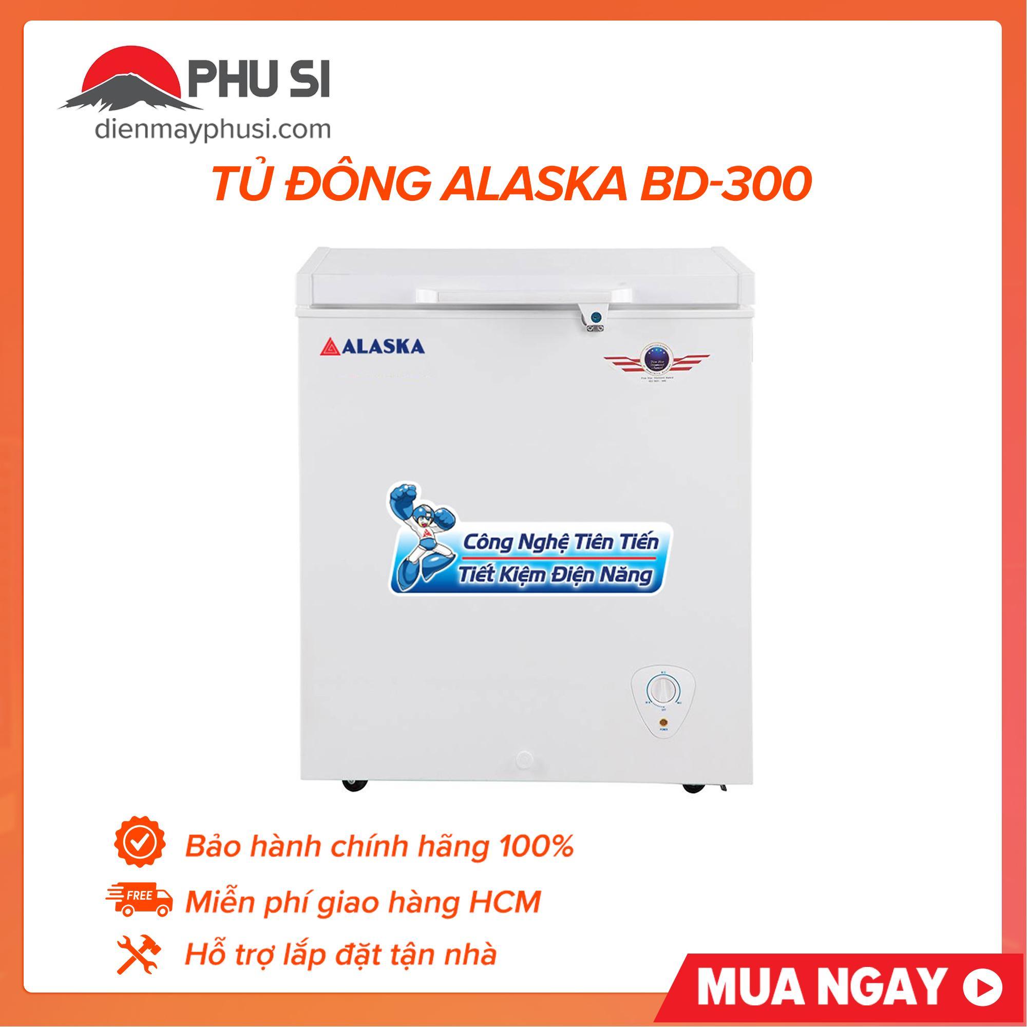 Bảng giá Tủ Đông Alaska BD-300 Điện máy Pico