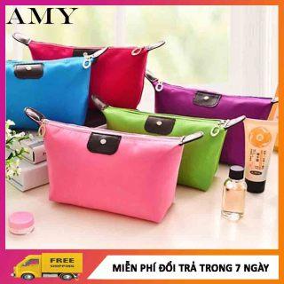 [CHỐNG THẤM NƯỚC] Túi Đựng Mỹ Phẩm, Túi Đựng Đồ Đa Năng Đi Chơi Đi Du Lịch Size Lớn Chống Thấm Nước - Amy Store thumbnail
