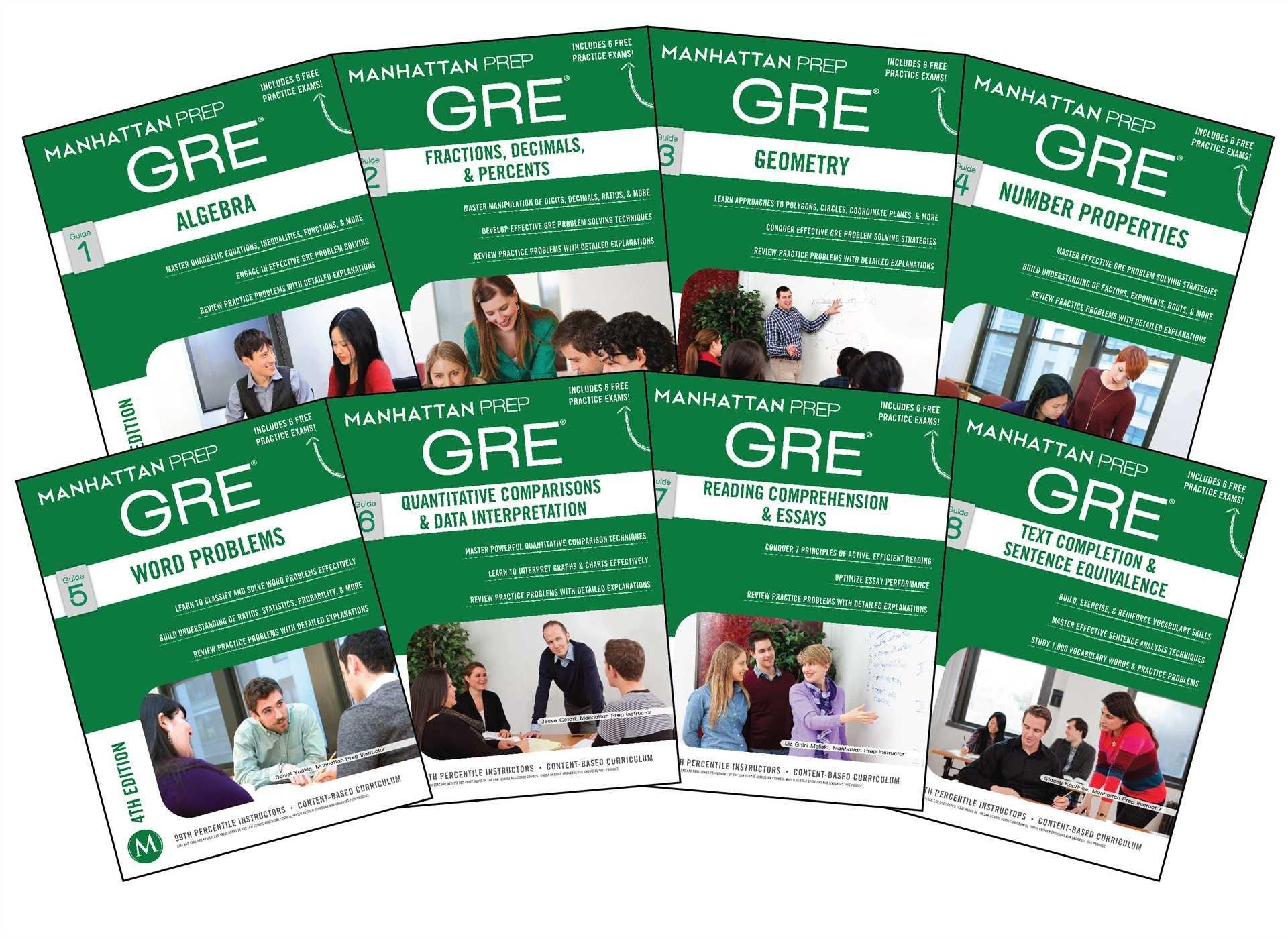 Manhattan Prep GRE Set of 8 Strategy Guides (Manhattan Prep GRE Strategy Guides) Fourth Edition Nhật Bản