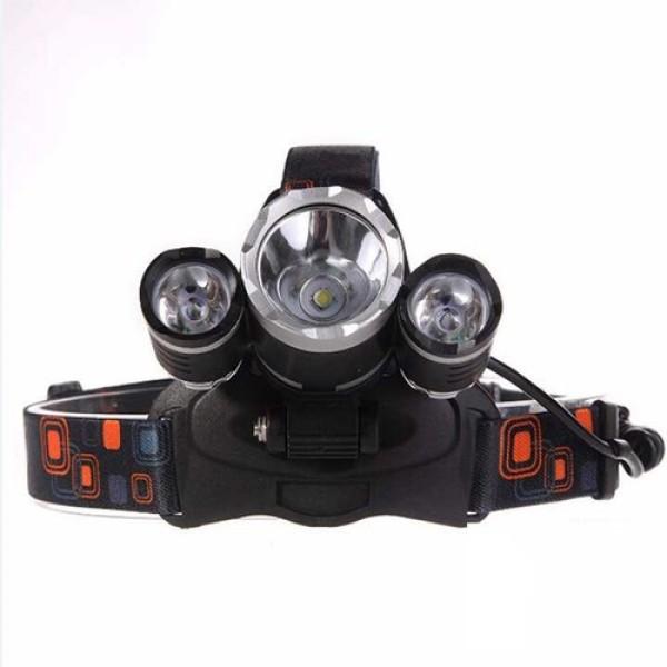Bảng giá [FREESHIP] Đèn pin siêu sáng, đèn pin đội đầu 3 bóng siêu sáng, đèn led đội đầu 3 bóng + 2 pin sạc 18650 + 1 củ sạc, Den pin sieu sang doi dau 3 bong, BH 12 THÁNG