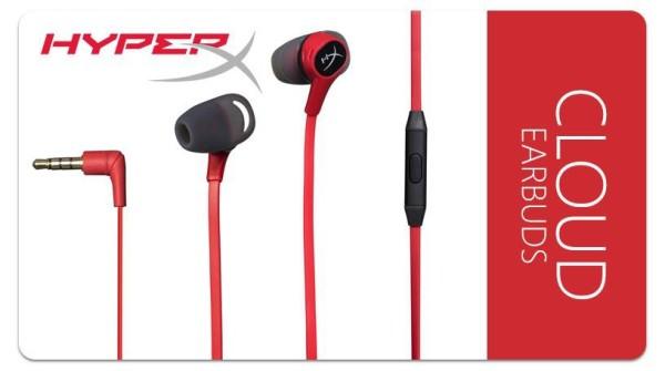 Bảng giá Tai nghe Kingston HyperX Cloud Earbuds - BH Chính hãng 24 Tháng Lỗi 1 đổi 1 Phong Vũ