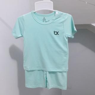 Bộ thun lạnh mềm mát BEXIU (bx) tay ngắn cộc mùa hè cho bé 6-15kg thumbnail