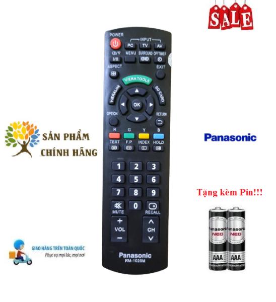Bảng giá Remote Điều khiển tivi Panasonic RM-1020M LED/LCD/Smart TV- Hàng chính hãng theo TV 100% Tặng kèm Pin