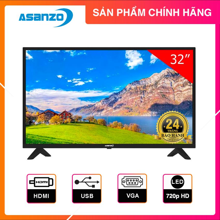 Bảng giá Tivi Led Asanzo 32 inch HD - Model 32AH102 (Đen)