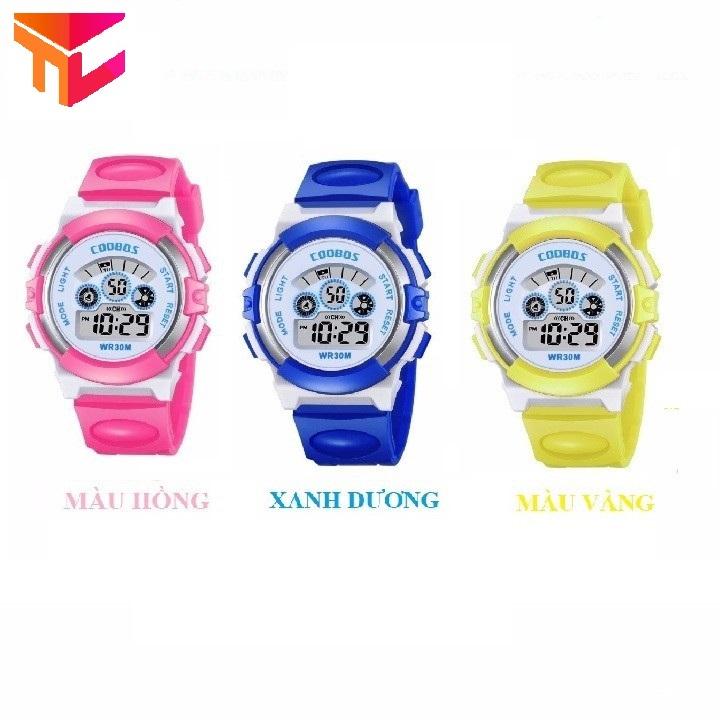 [HCM]Đồng hồ bé gái - Tặng pin - Hình Thật
