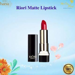 [CHÍNH HÃNG] Son Lì Cao Cấp Riori Matte Lipstick Lên Màu Đẹp, Lâu Trôi. thumbnail