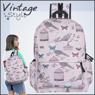 [Giảm ngay 152k] Balo nữ đi học, Balo nam, Balo nữ, Balo unisex, balo laptop, balo du lịch phong cách vintage hàn quốc sl22 vin013 thumbnail