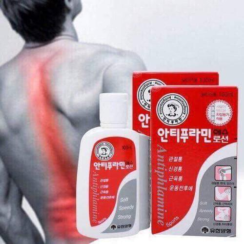 Dầu Nóng Xoa Bóp Antiphlamine  Hàn Quốc 100ml chính hãng