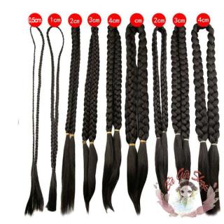 BÍm tóc giả bím tóc đôi dài loại 0,5cm thumbnail