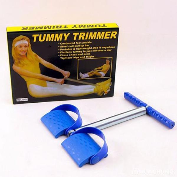Dây tập Gym tại nhà, Tummy Trimmer Dụng cụ tập Gym tại nhà tiện lợi - Dụng cụ tập thể lực đa năng Benhome (Xanh)