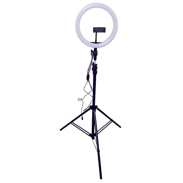 [Bán chạy] Đèn Led tròn LiveStream Ø 26CM - Trang điểm - Chụp ảnh - Xăm nghệ thuật - SIêu sáng - Có nút chỉnh 3 chế độ sáng