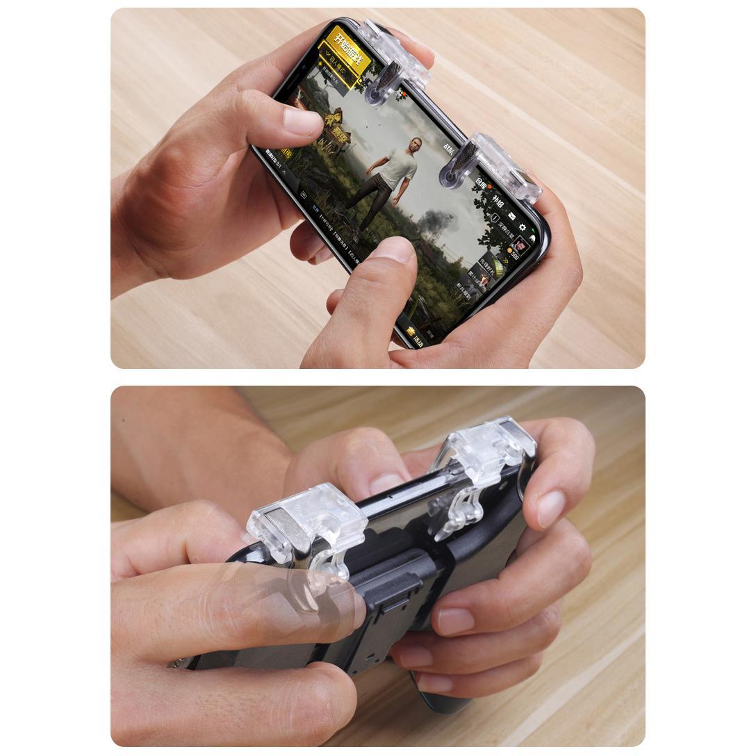 Bộ 2 Nút Bấm Chơi Game PUBG, ROS Dòng T9 Cảm Ứng Trên Điện Thoại   Lazada.vn