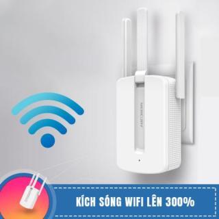 [FREESHIP ]Bộ Kích Sóng Wifi Mercury 3 râu MW310RE tốc độ 300 Mbps không dây xuyên tường, Cục kích sóng wifi, Thiết bị kích sóng wifi thumbnail